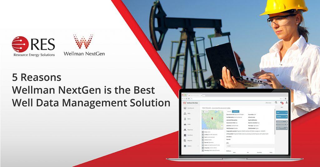 Wellman NextGen is the best well data management solution