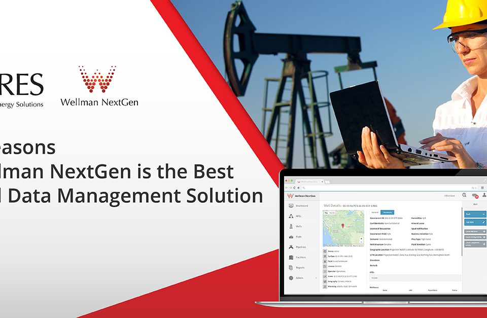 Wellman NextGen is the best well data management solution